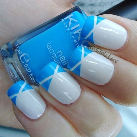 Cute Easy Nail Designs Using Tape: 25+ Best Tape Nail Designs Ideas On Pinterest