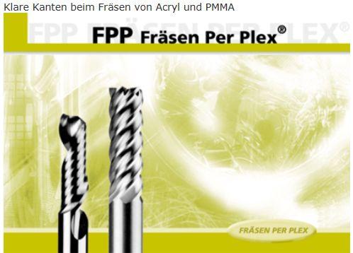 HUFSCHMIED FPP-Fräser Z1 ZR 3.0mm/3.0mm