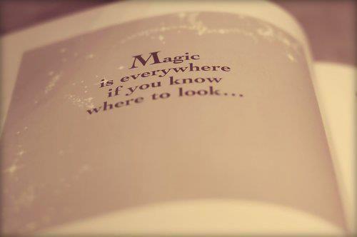 Magic is everywhere ...  l'indiscrete