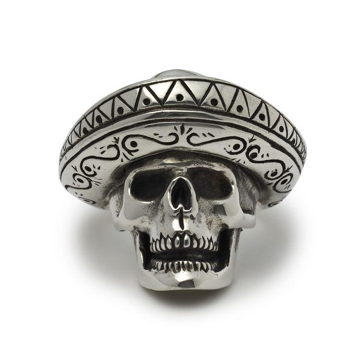 The Great Frog 'Desperado' Ring. Handmade in London from hallmarked .925 British sterling silver.