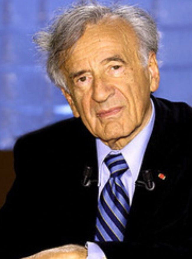 Elie Wiesel. Writer. Born 1928 in Sighet, Transylvania to Shlomo and Sarah Wiesel. 3rd of 4 Children. Was liberated from the concentration camp of Buchenwald at age 16. Vowed not to speak of experience for 10 years.