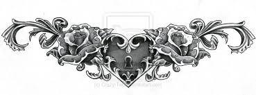 lower back tattoo designs black - Google Search