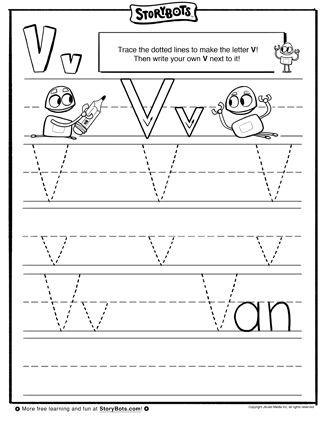 50 best letter v images on pinterest preschool letters alphabet worksheets and letter activities. Black Bedroom Furniture Sets. Home Design Ideas