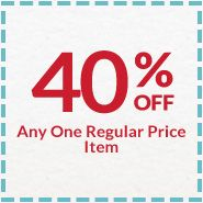 Michaels Printable Coupon - 40% off Regular Price Item