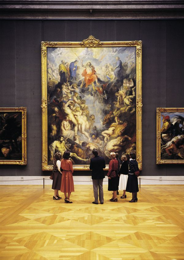 "ALTE PINAKOTHEK - ""The Last Judgement"" Peter Paul Rubens - 1617 - Visit Alte Pinakothek (Old Picture Gallery) in Munich, Germany with   paintings from the old masters.  Across the street is the Neue Pinakothek (New Picture Gallery) with paintings from the 19th century on."