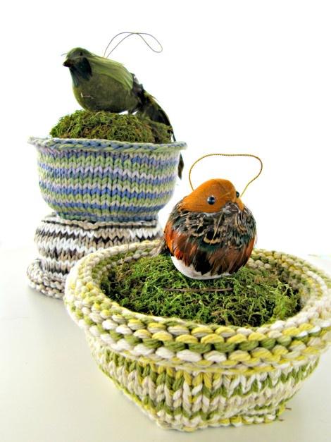 Knit Wildlife Rescue Bird Nests