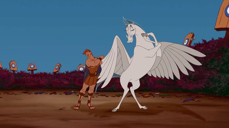 Lookalikes: Hercules and Pegasus