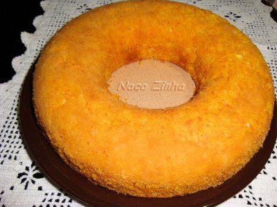 Bolo de abóbora com coco » NacoZinha - Blog de culinária, gastronomia e flores - Gina