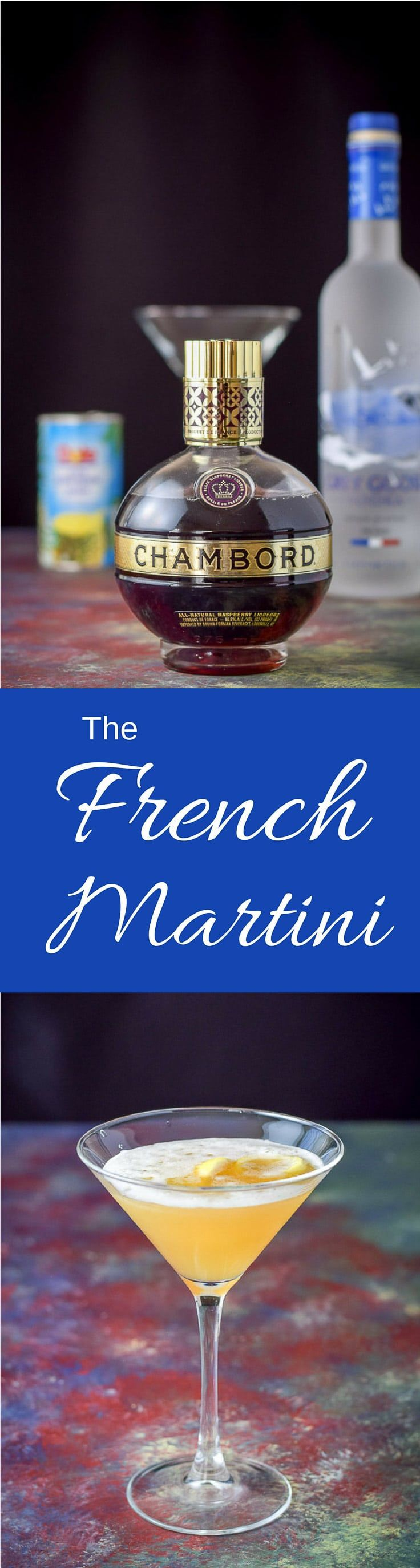 Best 25 French martini cocktail ideas on Pinterest
