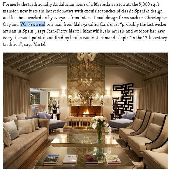 Travel   Illustration   Description   The Marbella Club Hotel, a #luxury #hotel in the South of #Andalucia, #Spain, with more than 60 years of history, for which we had the honour to be part of the #interior #decoration. We are already giving you some nice ideas for #summer #holidays....