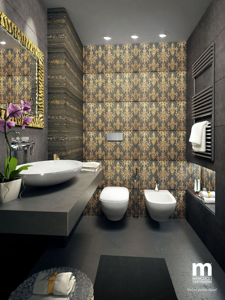 Redesign e riqualificazione servizi igienici di un hotel ***** ad Ancona.
