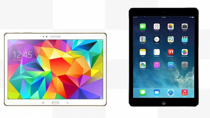 Gizmag compares the features and specs of the Samsung Galaxy Tab S 10.5 vs. iPad Air By Will Shanklin June 15, 2014