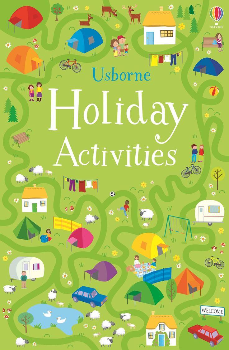 Usborne Holiday Activities (paperback)