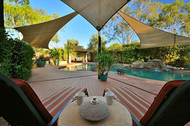 Resort relaxation beside the lagoon style pool... www.vatusanctuary.com.au