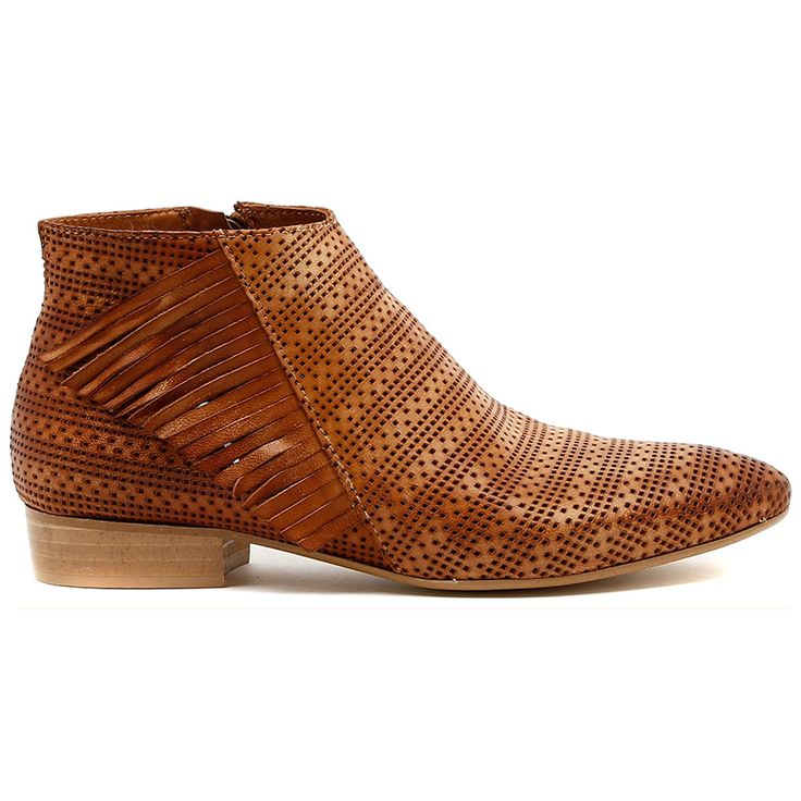 VAINO by Beltrami.   Here's an amazing ankle boot made extra special with a mix up of the season's hottest textures, pin punching and fabulous fringing! For a great transitional look, wear them with a light knit, skinny denim jeans and your best bag.  2cm heel. Leather upper, leather lining. Manmade sole. Made in Italy. http://www.cinori.com.au/made-in-italy/vaino/w1/i1207274_1006243/