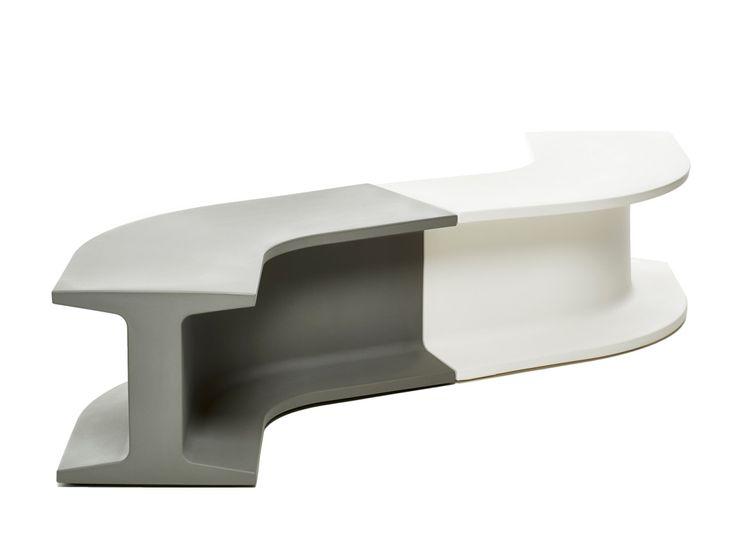 Iron bench by Sebastian Bergne for TOG.  #SebastianBergne #Tog #bench