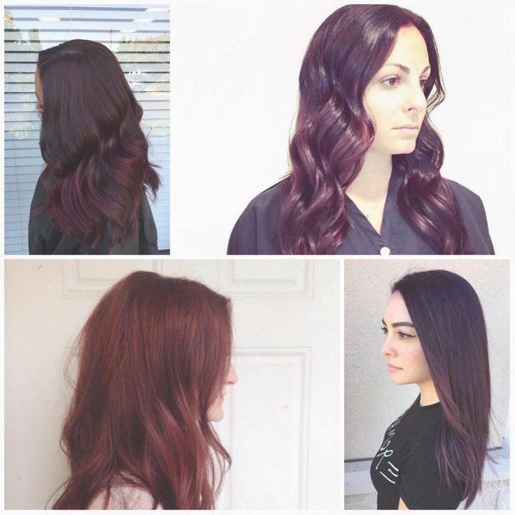 Red Violetten Haare färben Ideen für 2017   Mode   Frauen