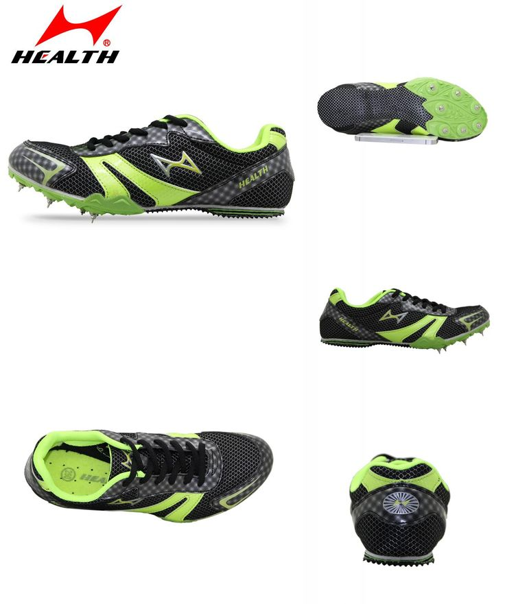 [Visit to Buy] HEALTH student athletic runing sport shoes professional slip-resistant long sprint spikes female running nail for men spike #Advertisement