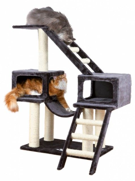 16 best images about diy kitty tower projects on pinterest for Diy cat playground