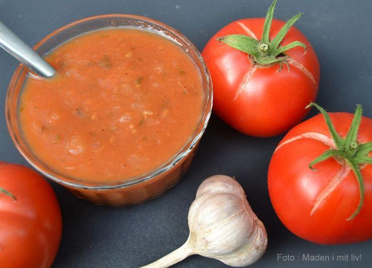 Hjemmelavet tomatsauce - perfekt til pizza og pasta... - MADEN I MIT LIV!