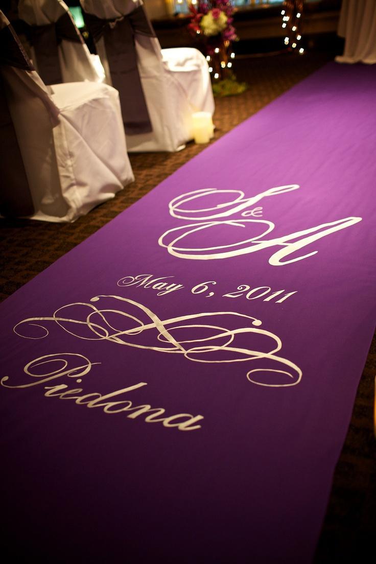 wedding aisle runner wedding aisle runner purple aisle runner