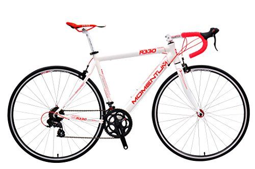 Momentum Racing Road Bike R330 - 14 Speed Shimano A070 Groupset, Hydroformed Double Butted 6061 Aluminum Alloy Frame, 700c Wheels With Quick Release Hubs | bicyclestoredirect.com