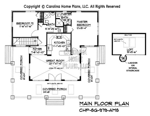 Small Stone Craftsman Bungalow House Plan Chp Sg 979 Ams