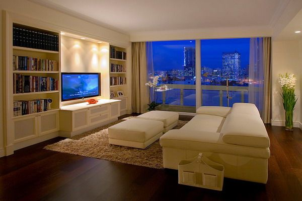 Modern Living Room Arrangement