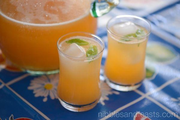 Agua Fresca de Melon | Cantaloupe Cooler | Drinks | Pinterest