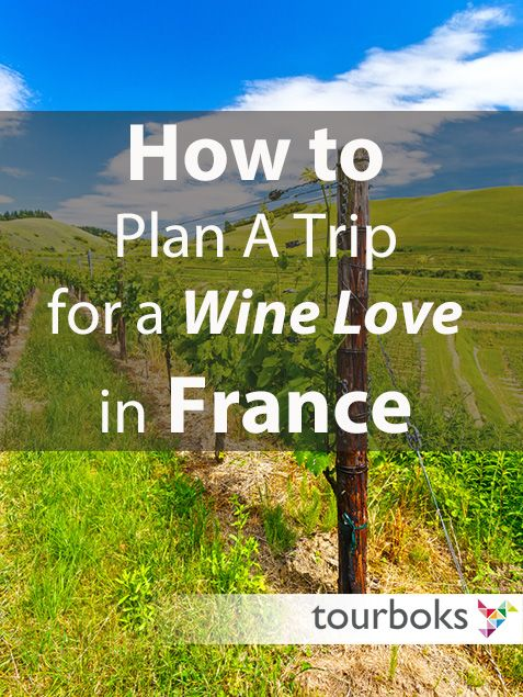 There is no doubt that French wine is among the best in the world. Read Tourboks guide for planning a trip for wine lovers in France.