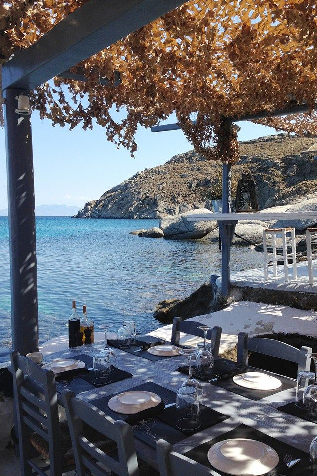 The culinary pleasures of Mykonos explored, from beach bar to taverna. Between white-washed streets and beautiful beaches, Pamela Goodman takes us on a tour.