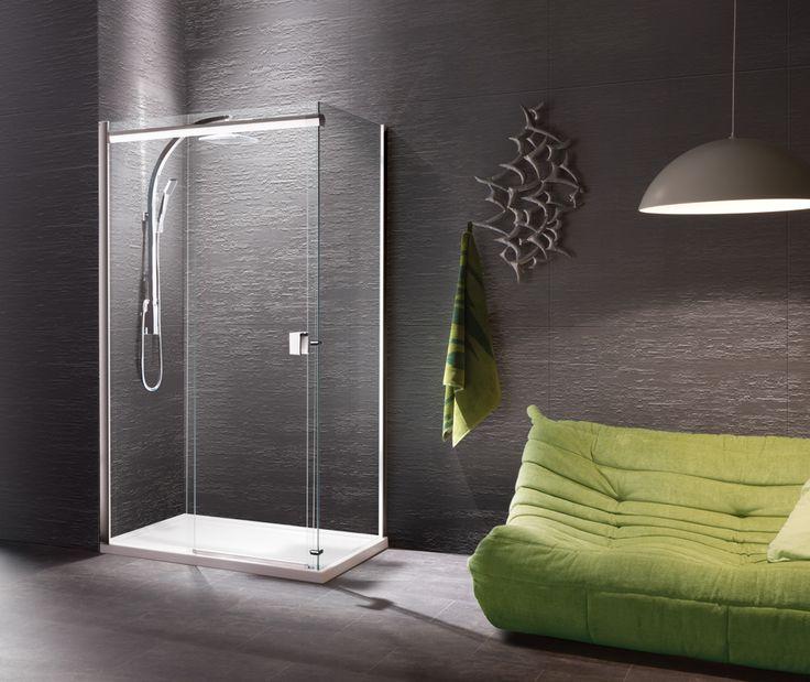 Straight Slider & Side Panel | Manhattan Shower Enclosures | Trays | Bathrooms7 | Manhattan Shower Enclosure | Trays | Bathrooms