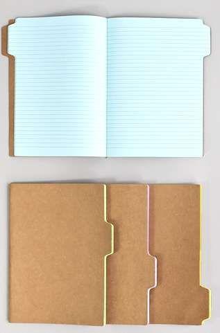 These Tab Notebooks Make Idea Organization Simpler #school http://trendhunter.com