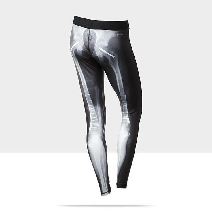 Nike Pro Printed Women's Tights::skeleton