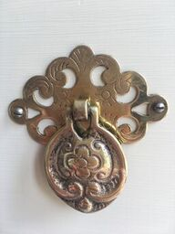 Gorgeous restored original brass handles