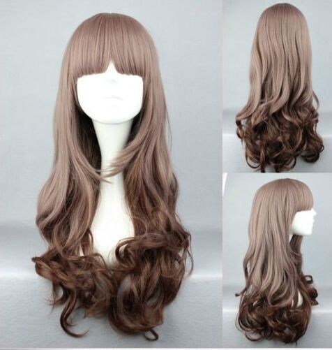100cm long brown straight Anime cosplay hair wig ML160 [ML160] - $15.29 : Fashion jewelry promotion store,Supply all kinds of cheap fashion jewelry