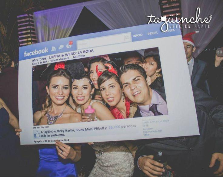 Marco para fotos Facebook www.taguinche.com