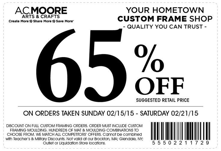 framing coupon
