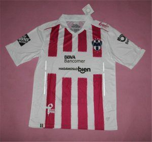 Monterrey FC Third 16-17 Season White&Red Soccer Jersey [H894]