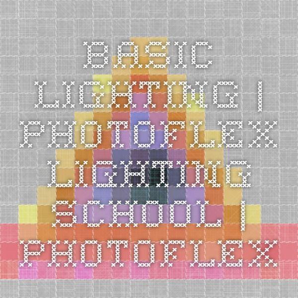 Basic Lighting   Photoflex Lighting School   Photoflex