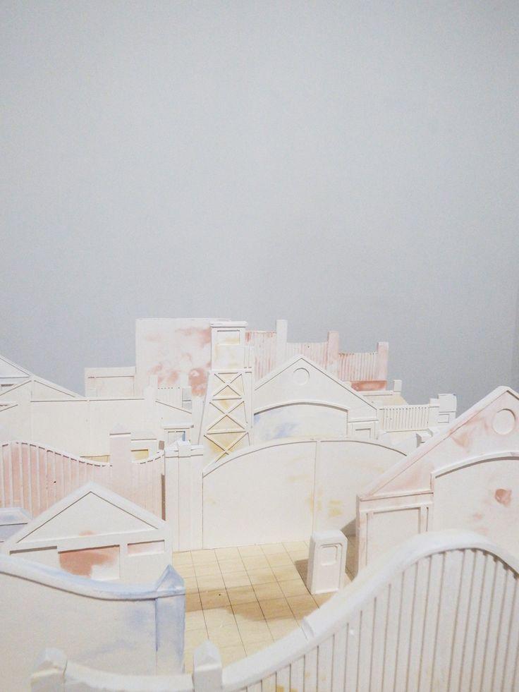 Posperiferia I, en Ciudad Sísifo, MAC Quinta Normal, Universidad de Chile, 2014 | Eugenia Rojas Donoso