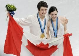 Canada's Figure Skating champions Tessa Virtue and Scott Moir