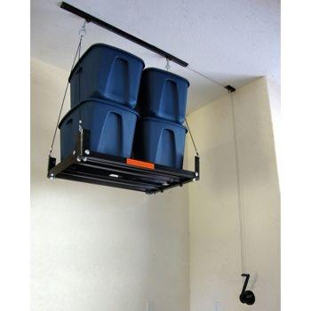 Garage Gator Hand Crank Hoist | DIY Projects | Pinterest ...
