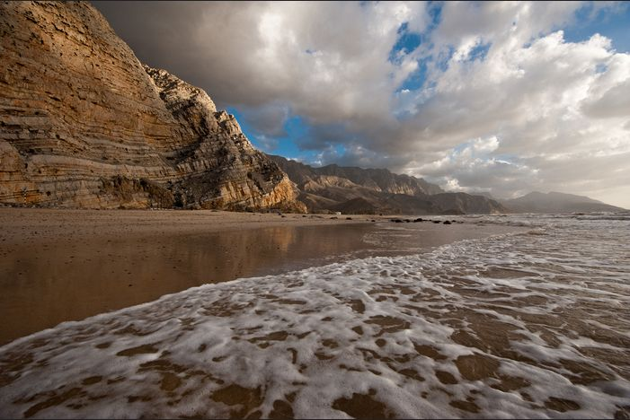 Musandam beaches, Oman - Like us: http://bit.ly/OmanUK-Musandam