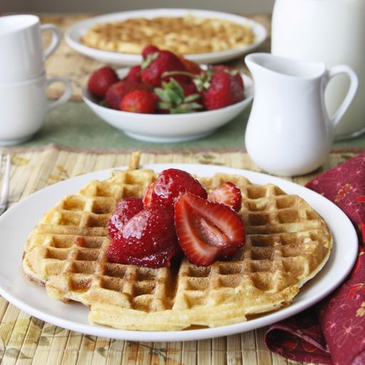 To try: waffles that stay crispy long after being taken out of the waffle iron. Contains buttermilk.