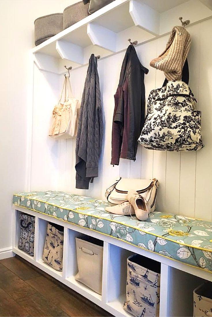 Custom Bench Cushion Featuring #robertallen Leda Peony Aquatint