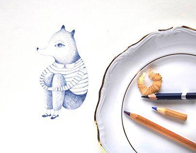 "Check out new work on my @Behance portfolio: ""Indigo"" http://be.net/gallery/52773471/Indigo"