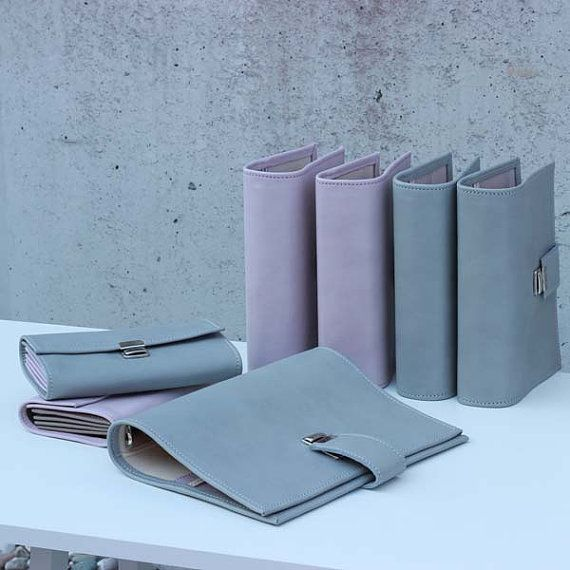 leather planner grey, A5 leather binder, A5 planner, A5 Binder, A5 leather planner, 6 ring planner,filofax, 6 ring calendar,leather calendar
