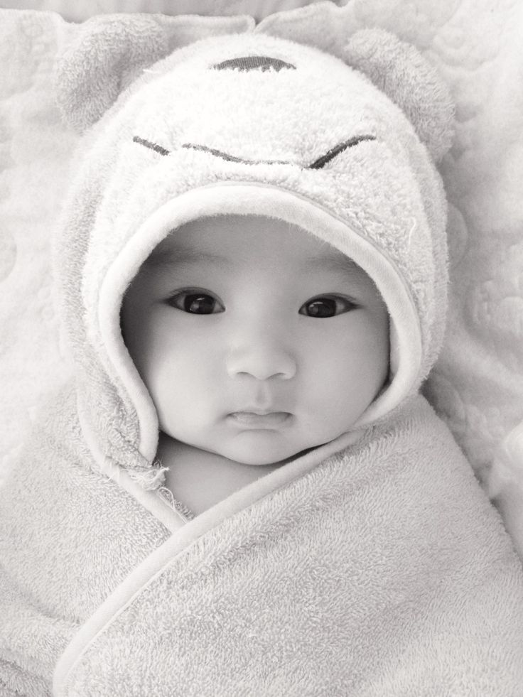 My cute baby boy in his Disney pooh towel Half Korean half Mexican. Can you say heartbreaker?   Baby photo ideas