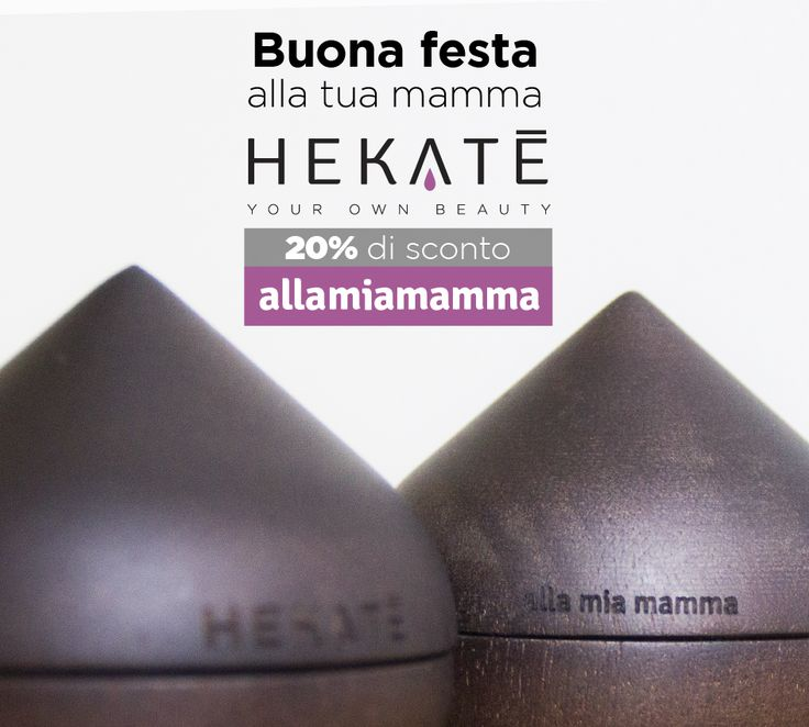 La tua #mamma è #unica... Dimostraglielo regalandole una #crema realizzata #sumisura per lei con @hekatecosmetics  Col codice 'allamiamamma', risparmierai il 20%.  #hekatè #hekatecosmetics #italia #italy #festadellamamma #festa #unique #mum #special #beautiful #gift #specialgift #mummy #skincare #tailored #cosmetics